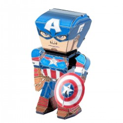 Metal Earth Captain Amerca Mini