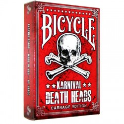 Bicycle Karnival Carnage Death Heads