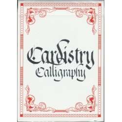Cardistry Calligraphy Red
