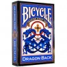 Bicycle Dragon Back Albastru
