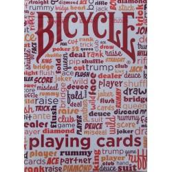 Bicycle Table Talk Rosu