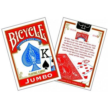 Bicycle Jumbo Index Rosu
