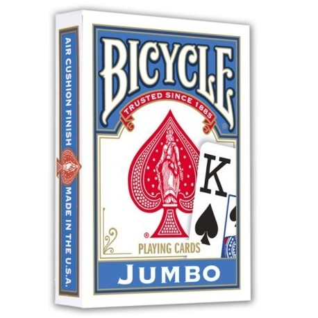 Bicycle Jumbo Index Albastru