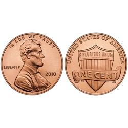 1 Penny fisic de 50 de monede