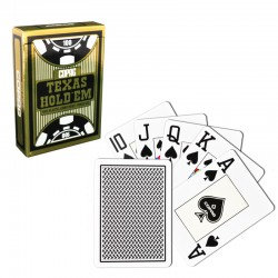 Copag Texas Hold'em Black 100% plastic