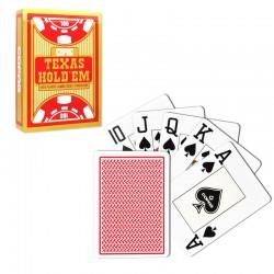 Copag Texas Hold'em Red 100% plastic