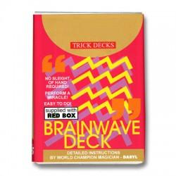 Bicycle Brainwave Deck Red